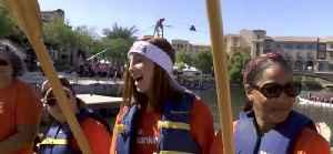 Leah Pezzetti at Rose Regatta [Video]