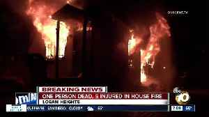 One dead, five injured in Logan Heights house fire [Video]
