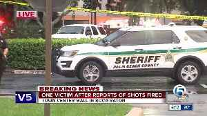 One victim injured after reports of shots fired at Town Center Mall in Boca Raton [Video]
