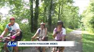 Local initiative teaches black American history through series of historical bike rides [Video]