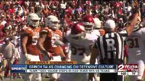News video: Sooners Defense Continues to Improve