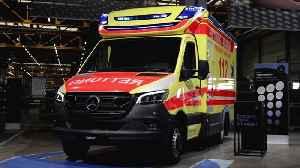 Mercedes-Benz Sprinter, chassis Sprinter ambulance vehicle by Fahrtec Systeme GmbH [Video]