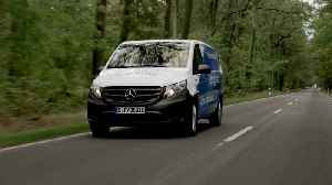 """Mercedes-Benz Sprinter eVito, Refrigerated vehicle """"Arctic Fox"""" by Kerstner GmbH [Video]"""