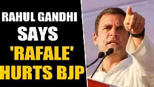 Rahul Gandhi says Rafale is still hurting BJP | OneIndia News [Video]