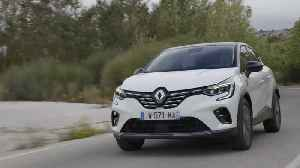 2019 New Renault CAPTUR tests drive in Greece Initiale Paris Version in Arctic White colour Driving Video [Video]