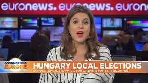 Hungary local elections: Opposition candidate Karácsony unseats Fidesz-backed incumbent in Budapest [Video]
