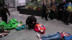 Extinction Rebellion protest in City of London [Video]