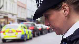 Police line the streets for the funeral of PC Andrew Harper [Video]