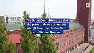 Nobel Prizes in Economic Sciences Awarded for Work in Reducing Poverty [Video]