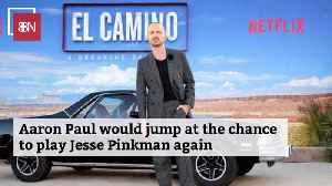 Aaron Paul After The Latest 'Breaking Bad' Movie [Video]