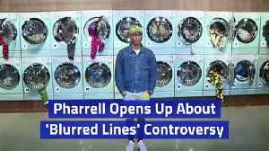 Pharrell Opens Up About 'Blurred Lines' Controversy [Video]