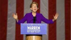 Warren Leading Biden Ahead Of Next Debate [Video]
