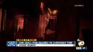 One dead, five injured in Logan Heights fire [Video]