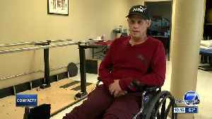 News video: 'I wasn't noticing the pain anymore': Denver man sets sights on future after losing leg to frostbite