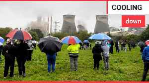 Demolition of four cooling towers at a record-breaking power station [Video]