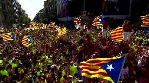 Spain jails Catalan separatist leaders for a total of almost 100 years [Video]
