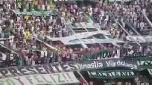 Siete hinchas cayeron de la tribuna sur en el Atanasio Girardot [Video]