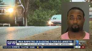 Man suspected of shooting 2-year-old arrested [Video]