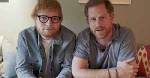 Gingers Unite! Ed Sheeran Visits Prince Harry's Home [Video]