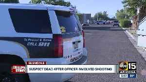 Suspect dead after officer-involved shooting in Glendale [Video]