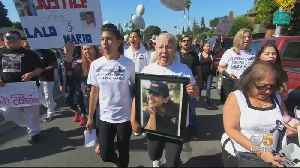 Family, Friends March For Justice A Year After 2 Killed In East Palo Alto Shooting [Video]