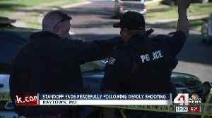 Standoff ends peacefully after deadly Raytown shooting [Video]