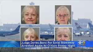 Serial Stowaway Ordered Held Without Bond [Video]