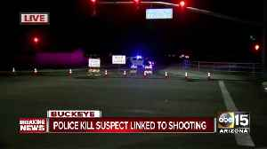 Suspect killed in officer-involved shooting in west Valley [Video]
