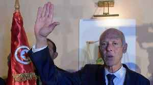 Exit polls project Saied to become Tunisia's new president [Video]