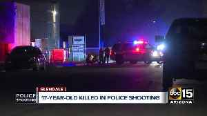 Glendale police respond to illegal party; Man fatally shot [Video]