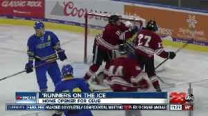 CSUB club hockey drops home opener [Video]