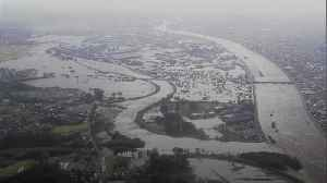 Japan rescue crews search for typhoon survivors [Video]