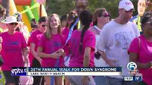 Walk for Down Syndrome held at John Prince Park [Video]