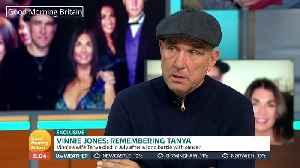 Vinnie Jones breaks down in first TV interview since wife's death [Video]