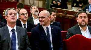 Spain: Catalan leaders get 13 years in jail for sedition [Video]