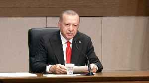 Turkish president Erdogan addresses Turkey's Syria offensive