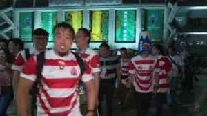 Japan celebrates historic Scotland win [Video]