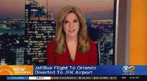 JetBlue Flight Diverted From Newark To JFK [Video]