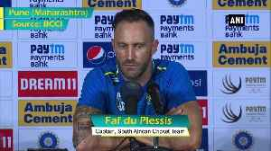 Our batting did not start well in the series SA skipper Faf du Plessis [Video]