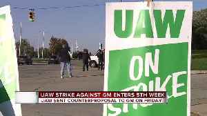 News video: UAW strike against GM enters fifth week