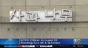 NYPD Officer Accused Of Pointing Gun At Waitress [Video]