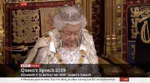 Queen's Speech Says Government Priority Is To Leave EU On 31 October [Video]