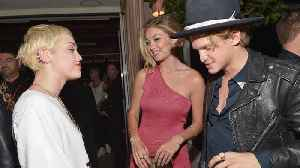 Cody Simpson and Miley Cyrus' friendship 'broke the ice' for romance [Video]