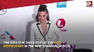 Idina Menzel in talks to star in Cinderella [Video]