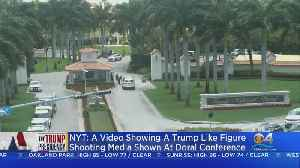 NY Times: Violent Parody Video Shown At Trump Resort [Video]