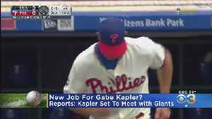 Reports: Former Phillies Manager Gabe Kapler To Meet With Giants [Video]
