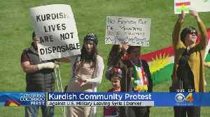 Protesters Demonstrate Against U.S. Troops Leaving Syria [Video]