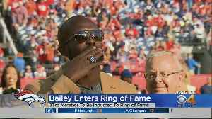 Champ Bailey Receives Hall Of Fame Ring [Video]