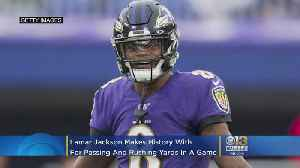 Baltimore Ravens Lamar Jackson Makes NFL History While Leading 23-17 Victory Over Bengals [Video]