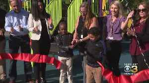 Clara Barton Elementary School Host Ribbon-Cutting For New Outdoor Space [Video]